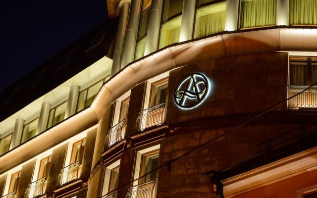 Гостиница Амбассадор вид на фасад