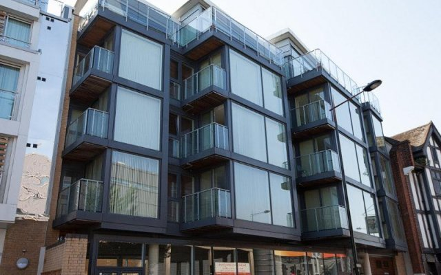 Camden Town Hotel вид на фасад