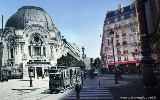Отель Hippodrome Франция, Париж - отзывы, цены и фото номеров - забронировать отель Hippodrome онлайн вид на фасад