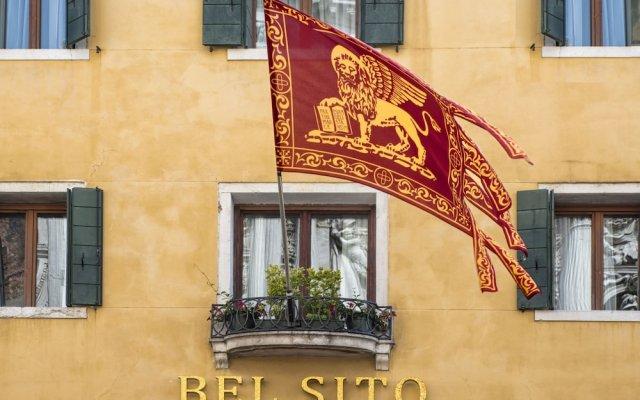 Отель Albergo Bel Sito e Berlino вид на фасад