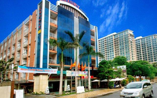 Luxury Nha Trang Hotel вид на фасад