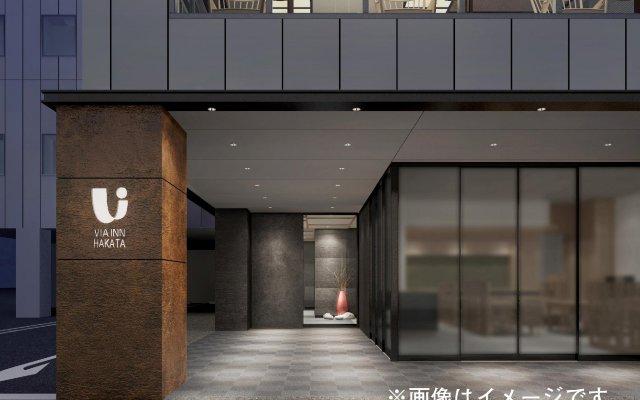 Отель Via Inn Hakataguchi Ekimae Хаката вид на фасад