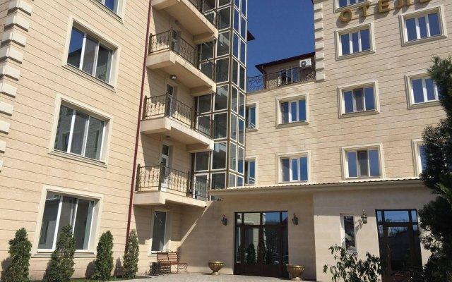 Rich Hotel Бишкек вид на фасад