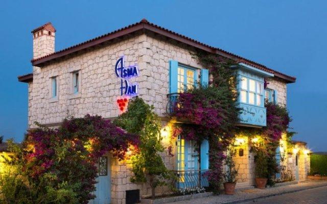 Asma Han Hotel Чешме вид на фасад