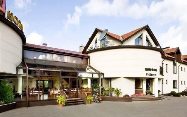 Отель «Морена» Литва, Клайпеда - 1 отзыв об отеле, цены и фото номеров - забронировать отель «Морена» онлайн вид на фасад