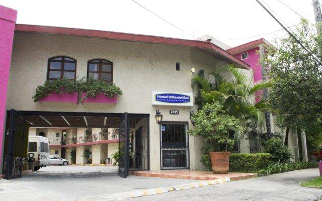 Hotel Villa Del Sol вид на фасад