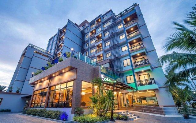 Отель Andaman Breeze Resort вид на фасад
