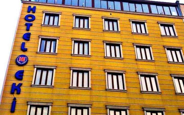 Ekin Hotel вид на фасад