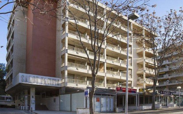 Отель Rentalmar Salou Pacific Испания, Салоу - 3 отзыва об отеле, цены и фото номеров - забронировать отель Rentalmar Salou Pacific онлайн вид на фасад