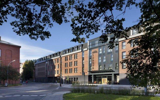 Отель Sadova Польша, Гданьск - отзывы, цены и фото номеров - забронировать отель Sadova онлайн вид на фасад