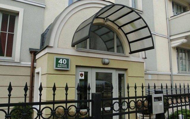 Отель Apartament Wiktor Сопот вид на фасад