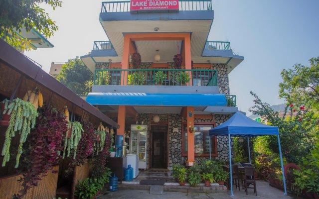 Отель OYO 198 Hotel Lake Diamond Непал, Покхара - отзывы, цены и фото номеров - забронировать отель OYO 198 Hotel Lake Diamond онлайн вид на фасад