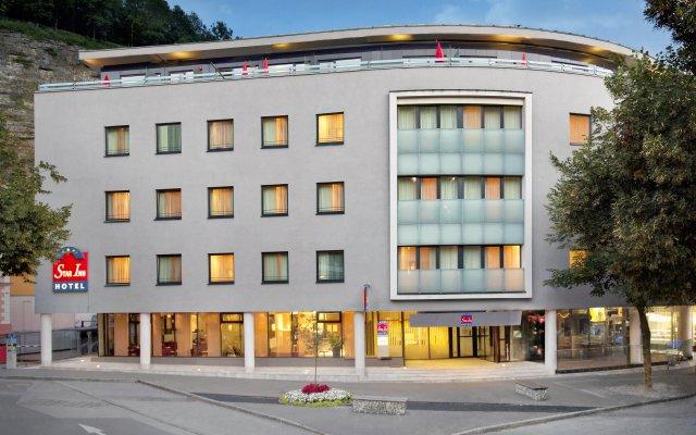 Star Inn Hotel Salzburg Zentrum, by Comfort вид на фасад