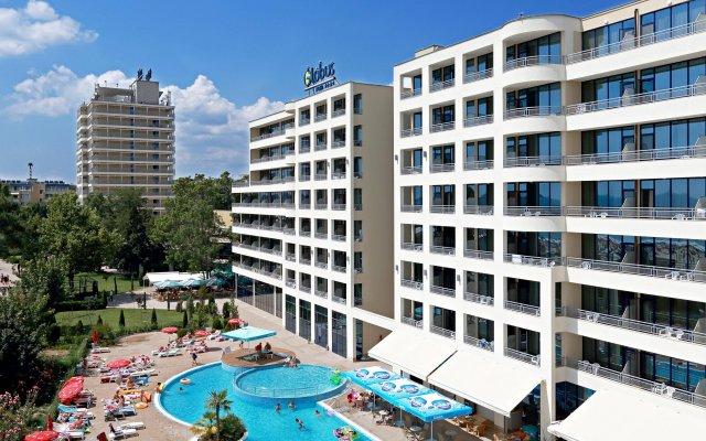 Отель Globus - Half Board Болгария, Солнечный берег - отзывы, цены и фото номеров - забронировать отель Globus - Half Board онлайн вид на фасад