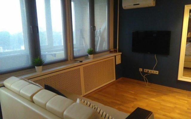 Апартаменты Lakshmi Dinamo Studio View комната для гостей