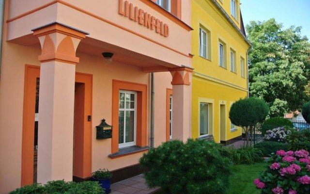 Отель Penzion Valkoun-Lilienfeld Чехия, Карловы Вары - отзывы, цены и фото номеров - забронировать отель Penzion Valkoun-Lilienfeld онлайн вид на фасад