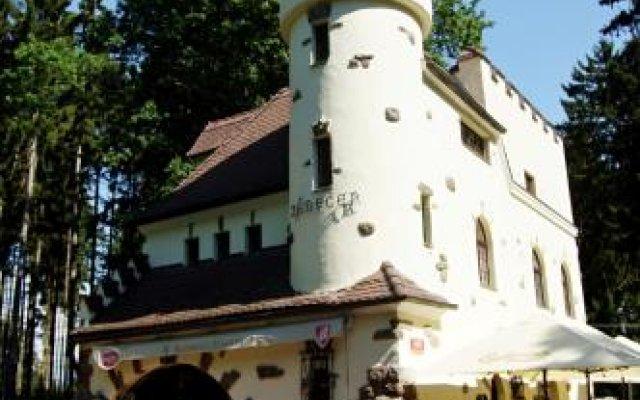 Отель Rezidence Zámeček Чехия, Франтишкови-Лазне - отзывы, цены и фото номеров - забронировать отель Rezidence Zámeček онлайн вид на фасад