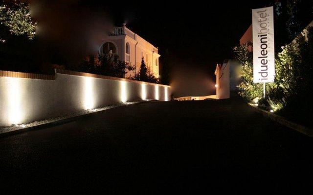 Отель I Due Leoni Hotel Италия, Ситта-Сант-Анджело - отзывы, цены и фото номеров - забронировать отель I Due Leoni Hotel онлайн вид на фасад