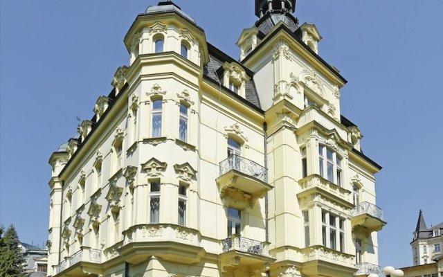 Hotel Mignon Карловы Вары вид на фасад