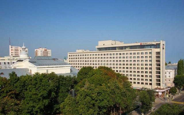 А-отель БРНО Воронеж вид на фасад