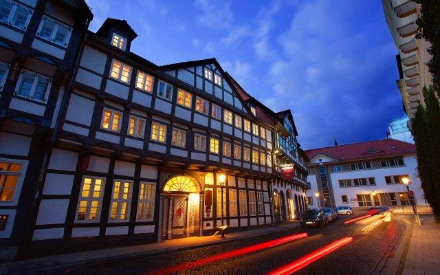 Hotel Ritter St. Georg вид на фасад