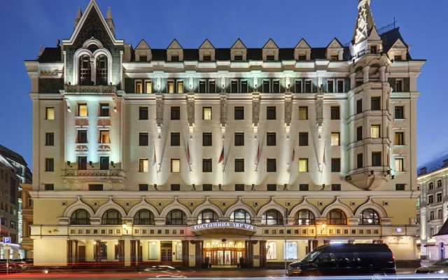 Отель Марриотт Москва Ройал Аврора вид на фасад