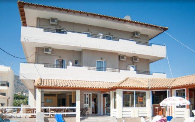Отель Hersonissos Sun Греция, Лимин-Херсонису - отзывы, цены и фото номеров - забронировать отель Hersonissos Sun онлайн вид на фасад