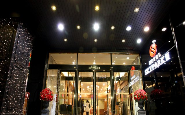 HOTEL SKYPARK Myeongdong III вид на фасад
