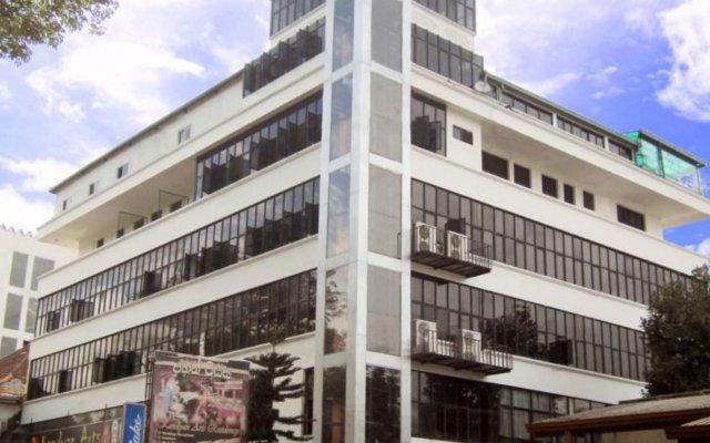 Отель Kandyan Arts Residency Канди вид на фасад
