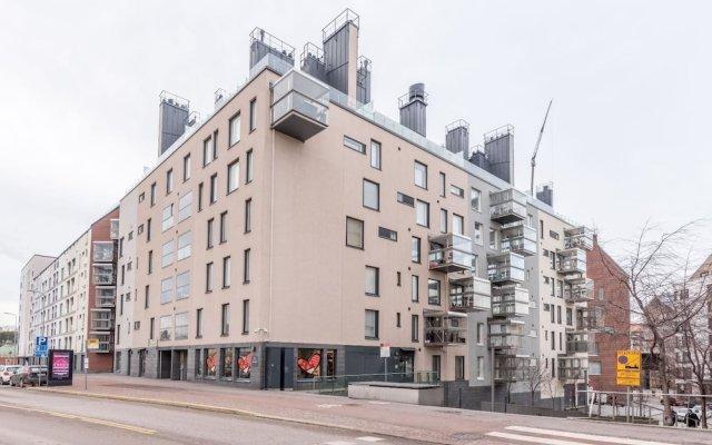 Отель Roost Kamppi 2 вид на фасад