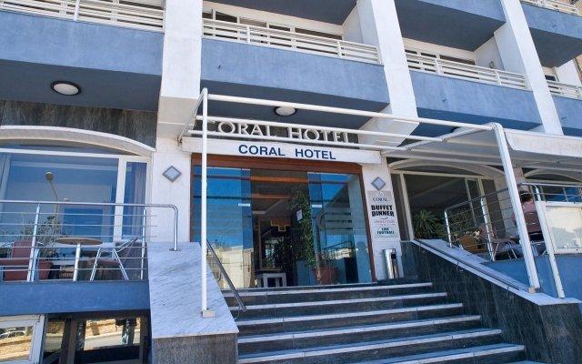 Отель Coral Hotel Мальта, Сан-Пауль-иль-Бахар - 2 отзыва об отеле, цены и фото номеров - забронировать отель Coral Hotel онлайн вид на фасад
