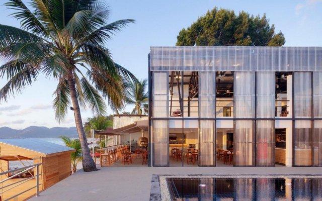 Отель Malibu Beach Resort Самуи вид на фасад