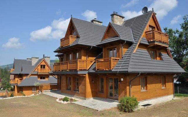 Отель Apartamenty Sun&Snow Resorts Lipki Park Zakopane вид на фасад