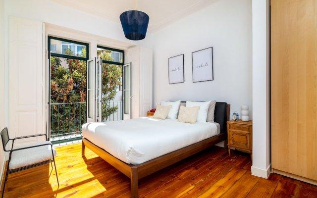 Апартаменты Mouraria Deluxe Apartment комната для гостей