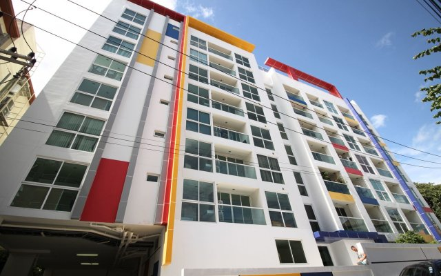 Отель Art on The Hill by Pattaya Sunny Rentals вид на фасад