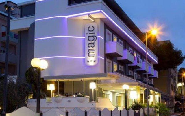 Hotel Magic вид на фасад