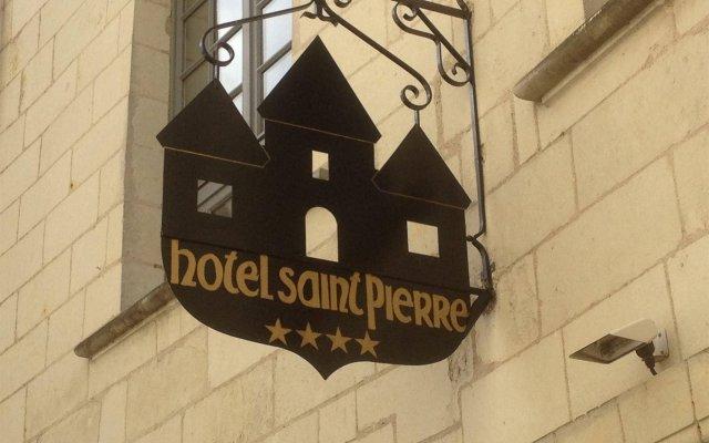 Отель Hôtel Saint-Pierre Франция, Сомюр - отзывы, цены и фото номеров - забронировать отель Hôtel Saint-Pierre онлайн вид на фасад