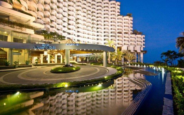 Royal Cliff Grand Hotel вид на фасад