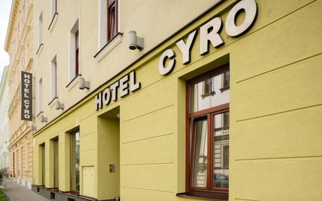 Отель CYRO Брно вид на фасад