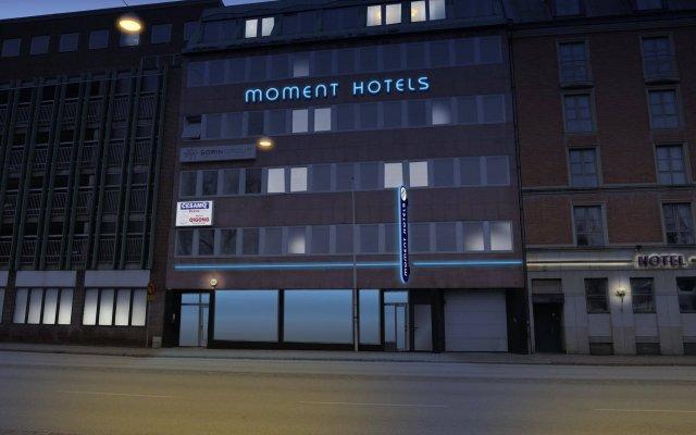 Отель Moment Hotels Швеция, Мальме - 3 отзыва об отеле, цены и фото номеров - забронировать отель Moment Hotels онлайн вид на фасад