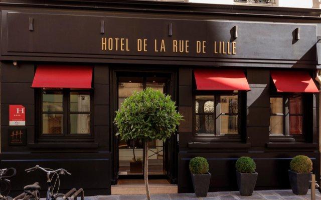 Отель De Lille Франция, Париж - отзывы, цены и фото номеров - забронировать отель De Lille онлайн вид на фасад