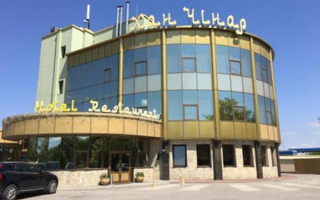 Гостиница Хан-Чинар Днепр вид на фасад