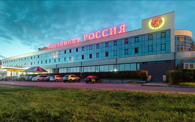 Гостиница АМАКС Россия вид на фасад