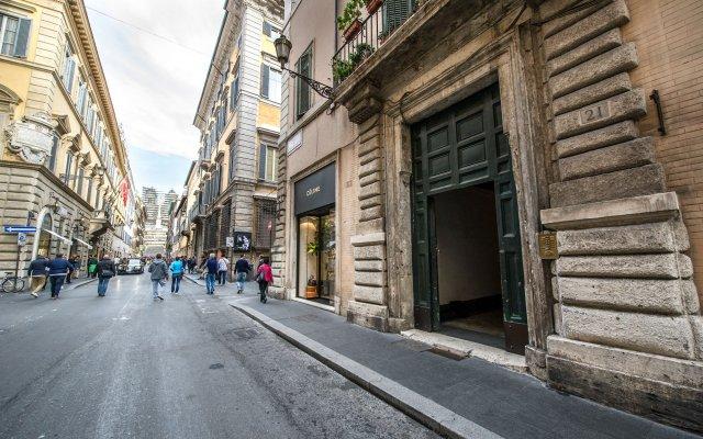 Отель Domus Spagna Capo le Case Luxury Suite вид на фасад