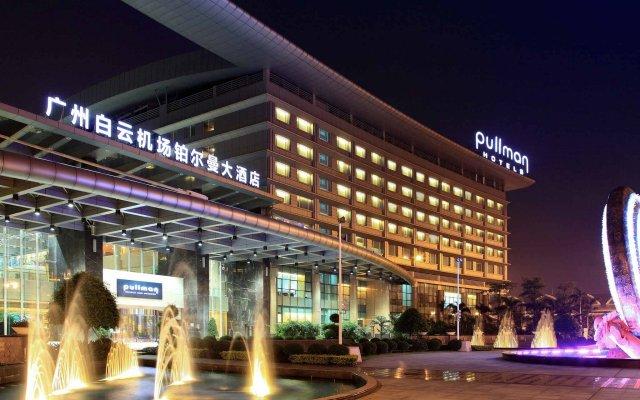 Отель Pullman Guangzhou Baiyun Airport вид на фасад