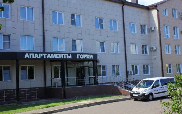 Апартаменты Gorki Apartments Domodedovo Москва вид на фасад