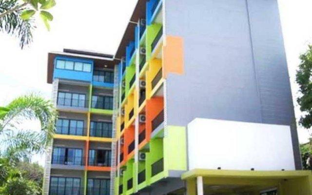 Отель UD Pattaya вид на фасад