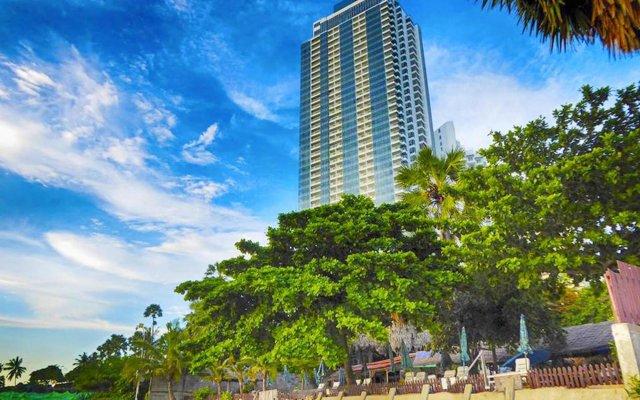 Отель The Palm Wongamat Beach Pattaya Паттайя вид на фасад