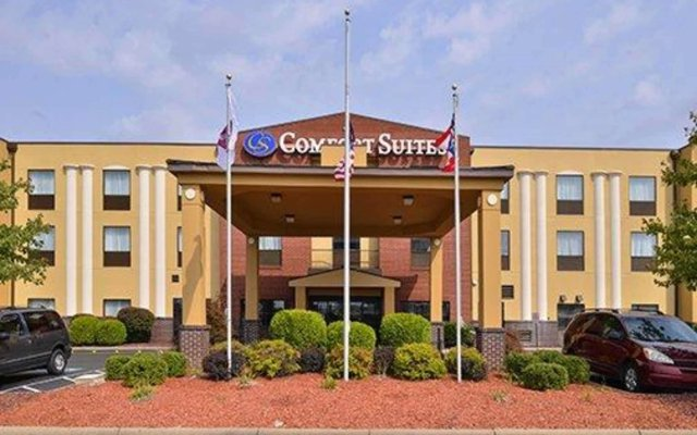 Отель Comfort Suites East США, Колумбус - отзывы, цены и фото номеров - забронировать отель Comfort Suites East онлайн вид на фасад
