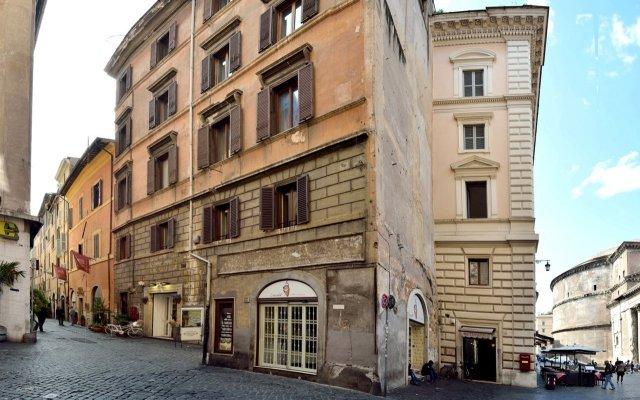 Отель Pantheon Италия, Рим - отзывы, цены и фото номеров - забронировать отель Pantheon онлайн вид на фасад